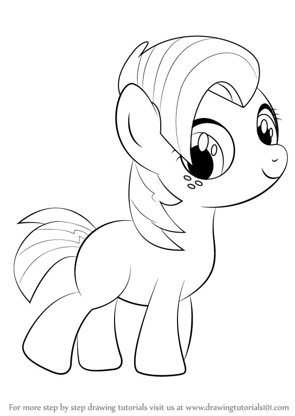 600x846 Learn How To Draw Babs Seed From My Little Pony Friendship Is