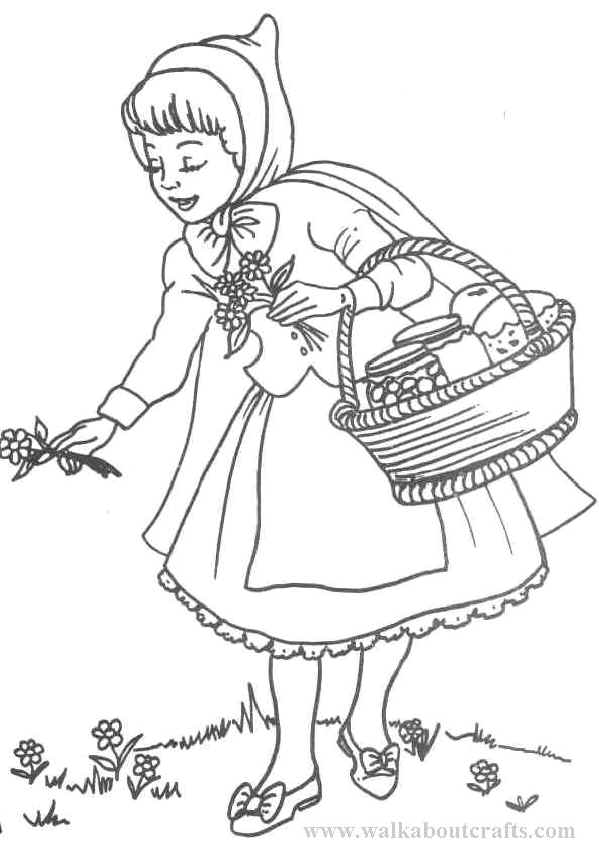 599x848 Little Red Riding Hood