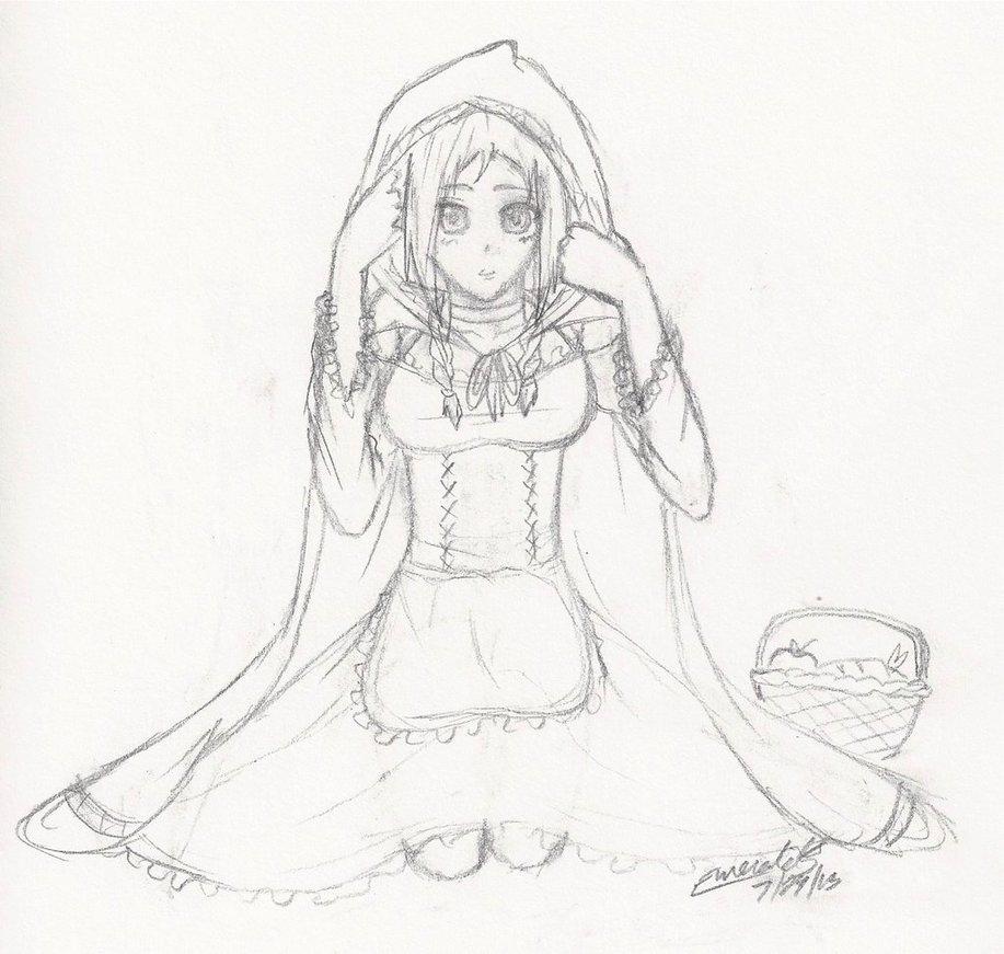 917x871 Little Red Riding Hood (Original) By Vivalallama