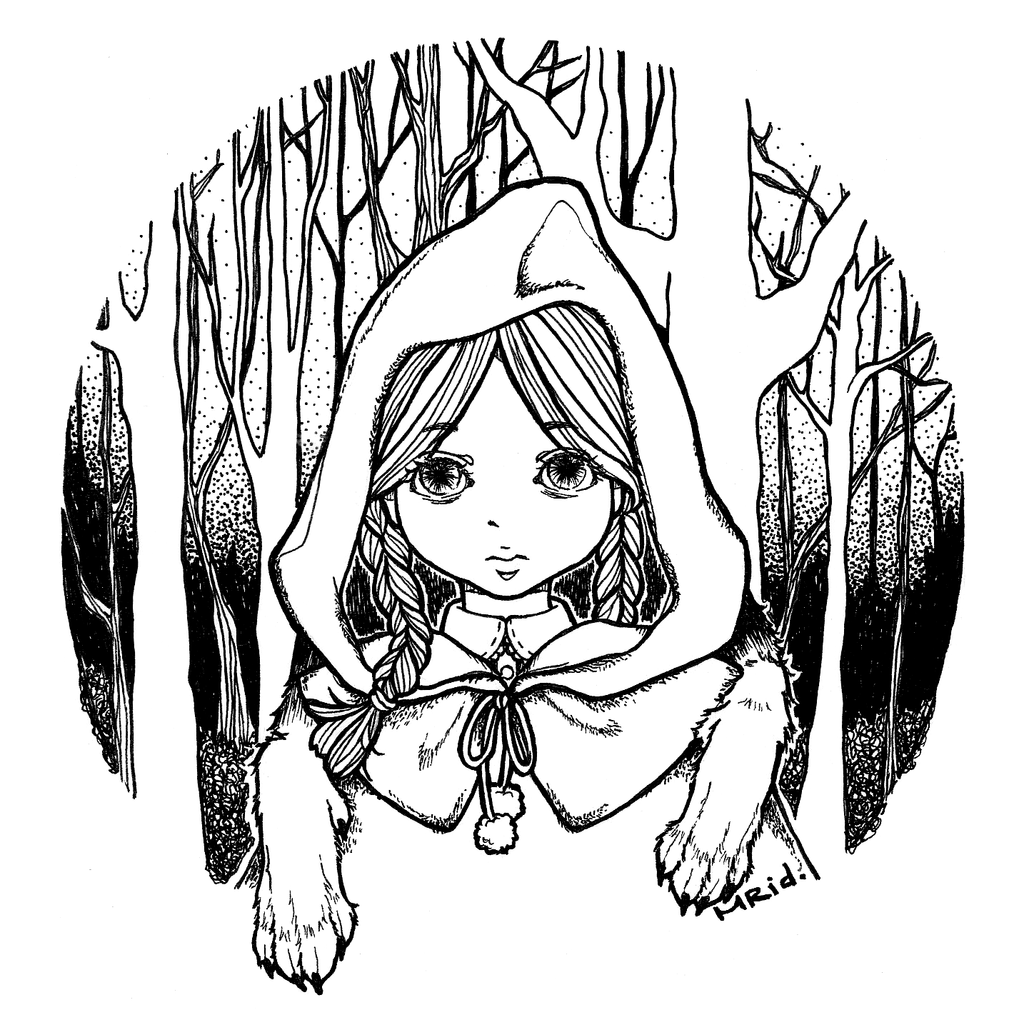 1024x1025 Little Red Riding Hood By Meowriddle