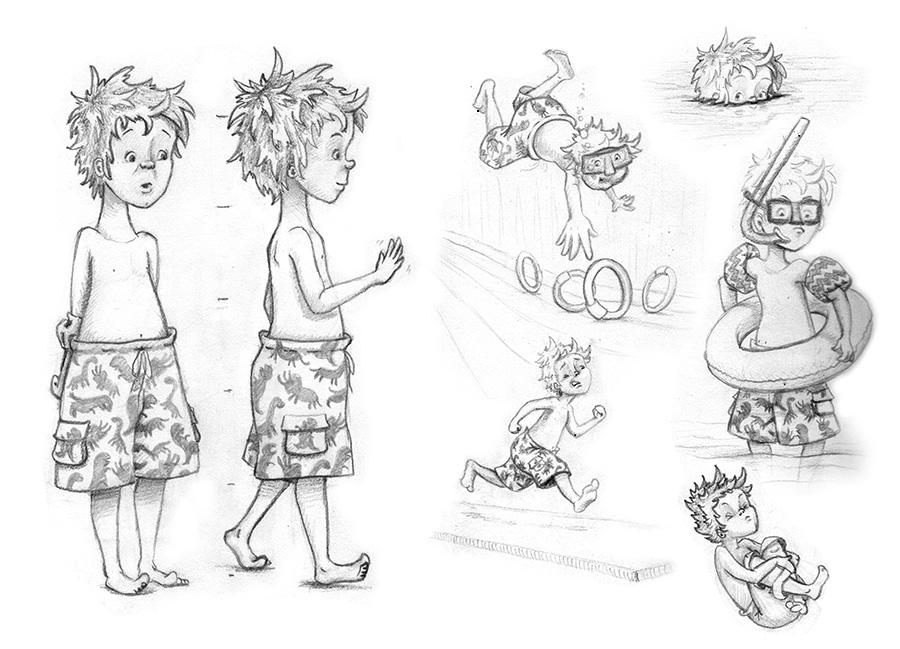 900x649 Lauren Gallegos Illustration Drawing Kids