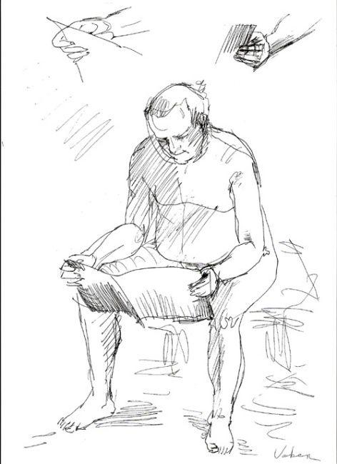 472x650 Live Model Drawing (Oksana Veber)