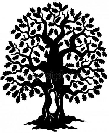 368x450 Oak Tree Stock Vectors, Royalty Free Oak Tree Illustrations