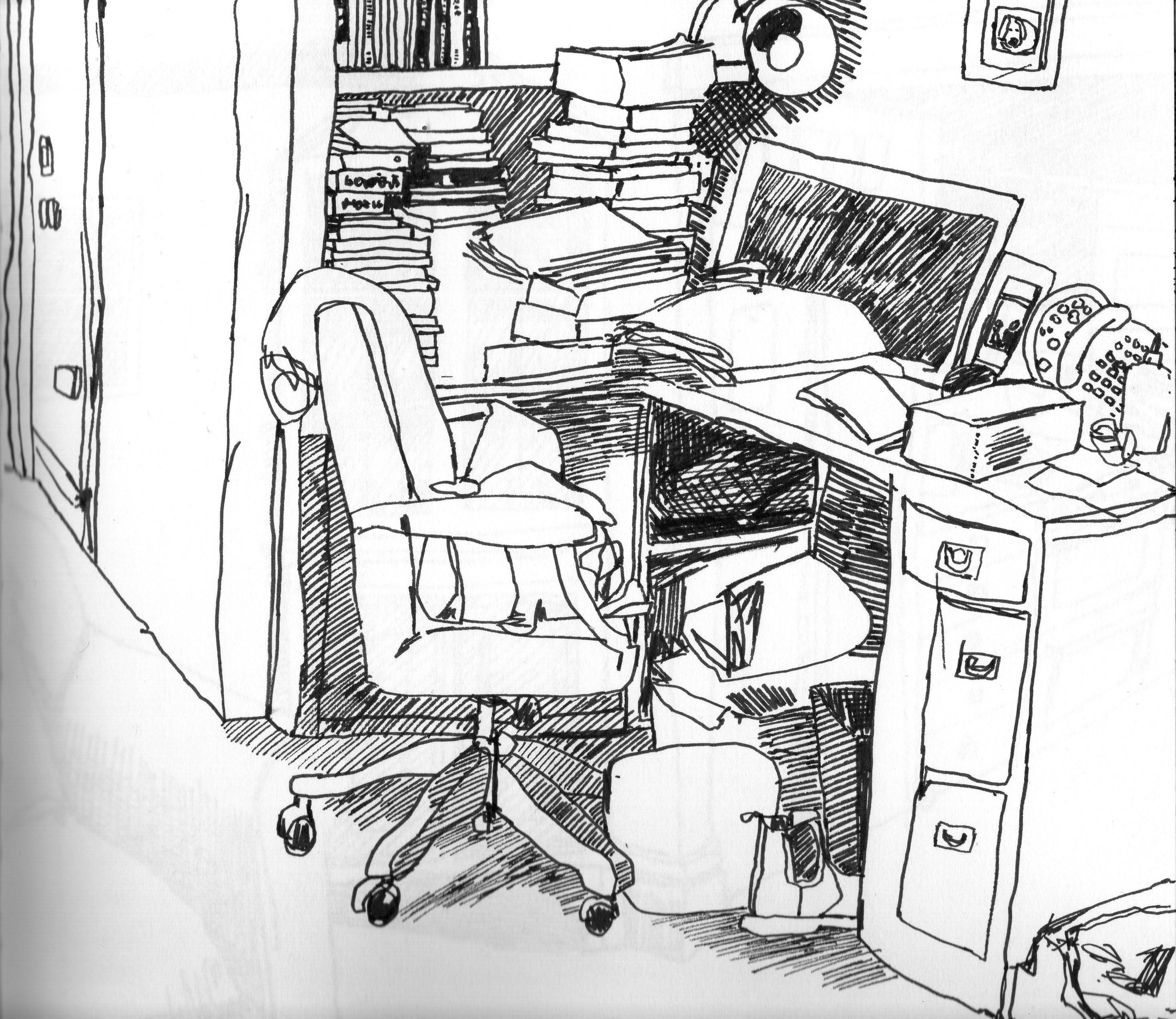 2936x2544 Living Room Drawing