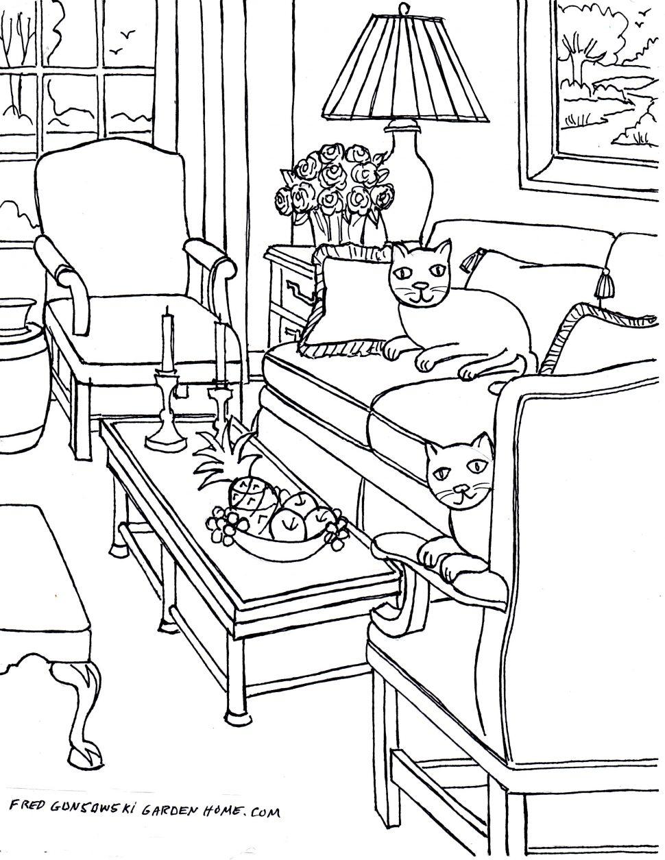 970x1255 Living Room Drawing
