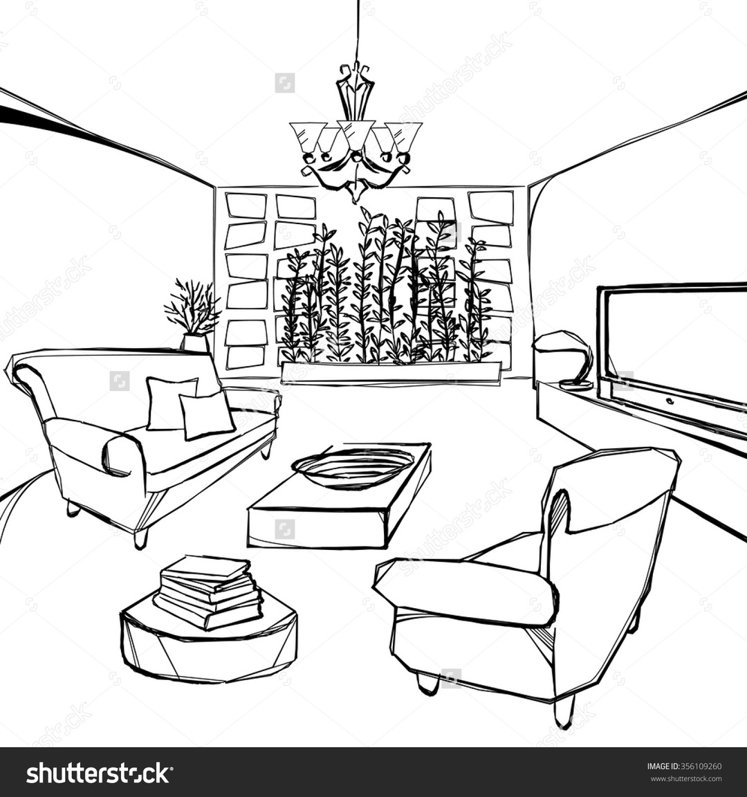 1080x1152 Dining Room Hand Drawing Come With Sketch And Images In Beautiful