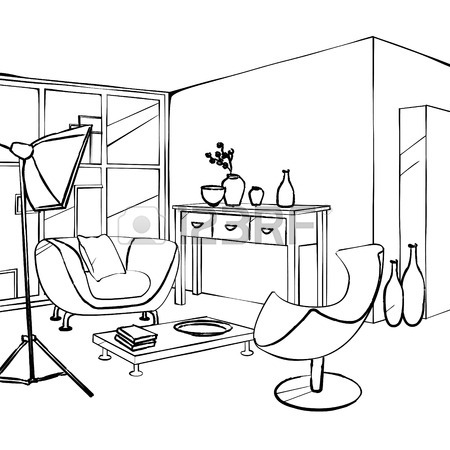 450x450 66,144 Living Room Cliparts, Stock Vector And Royalty Free Living