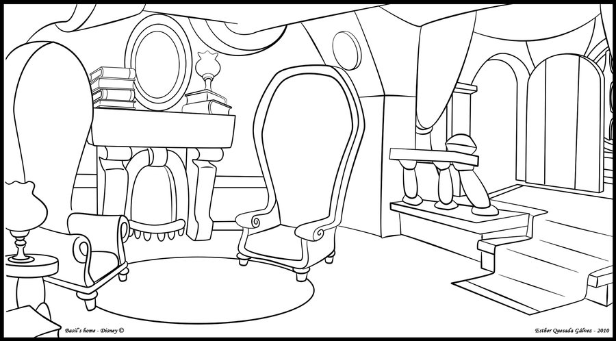 900x498 Basil's Living Room By Raygirl13