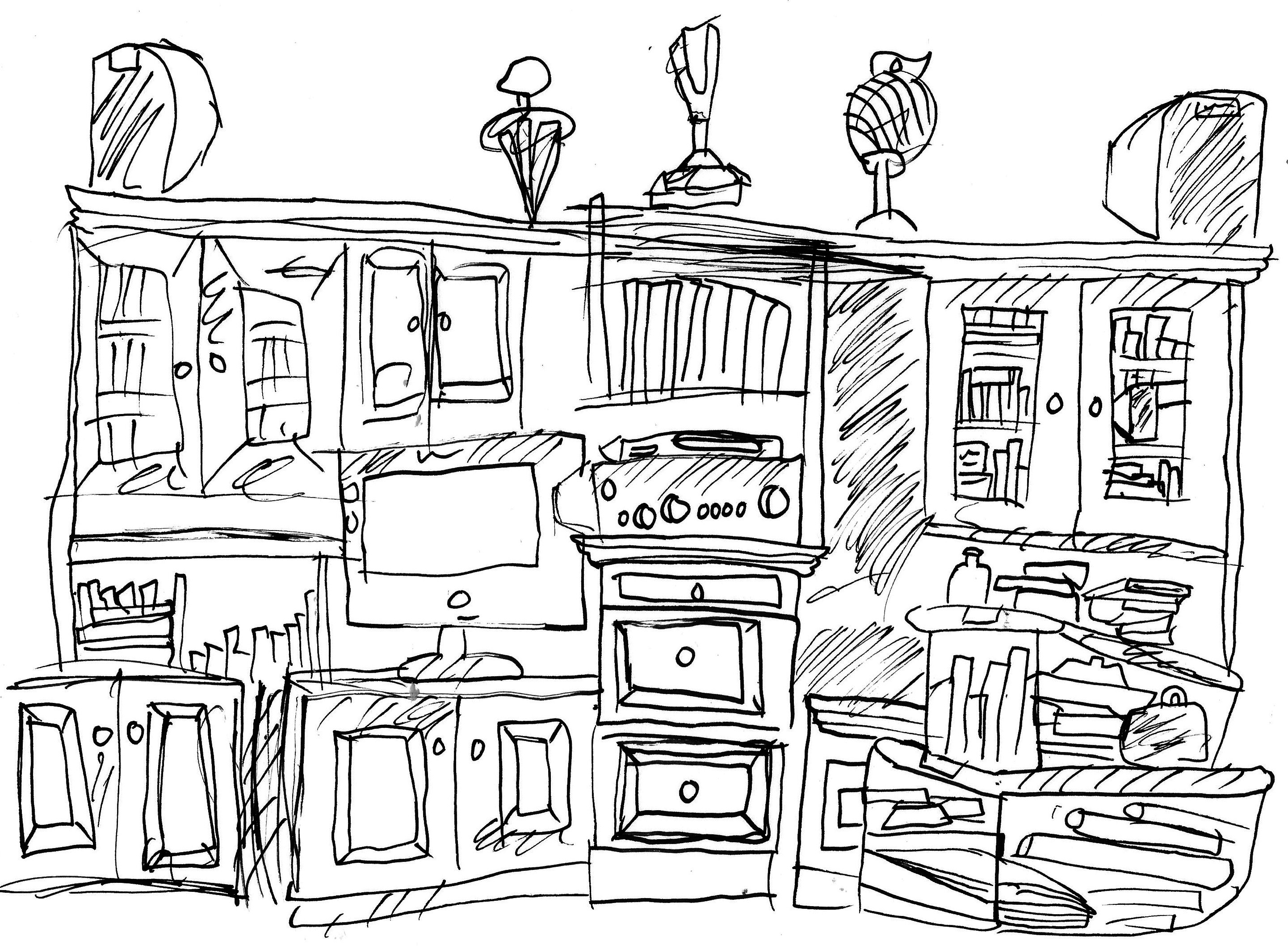 2883x2125 Images About One Point Perspective On And Drawing Hands
