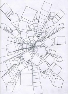 236x324 Waldorf ~ 7th Grade ~ Perspective Drawing ~ One Point Perspective