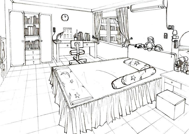 800x567 Bedroom Drawing Drive Stile.club
