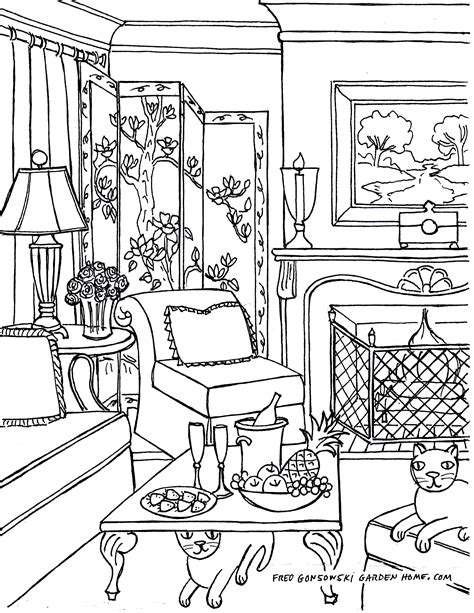 One Perspective Drawing Room: Living Room Perspective Drawing At GetDrawings