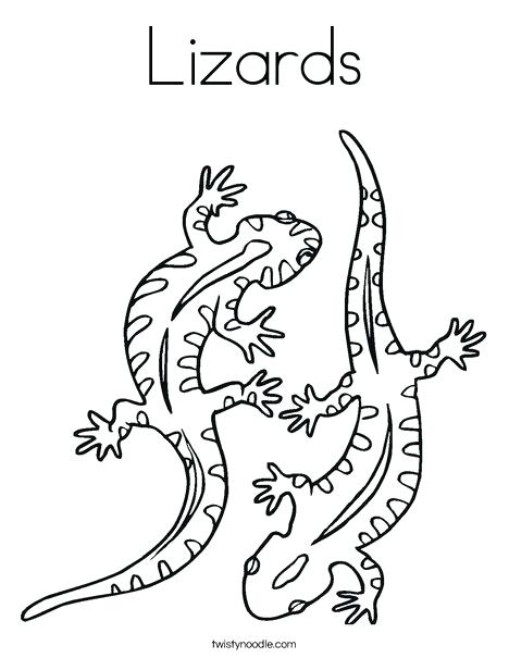 468x605 Lizard Coloring Pages Two Lizard Coloring Page Lizard Man Coloring
