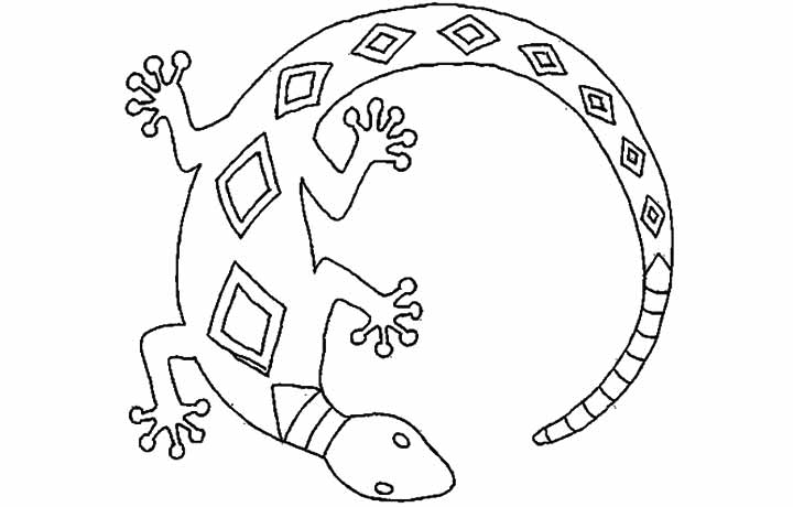 free reptile coloring pages - photo#39