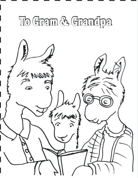 471x608 Llama Coloring Page Astounding Cute Llama Drawing With Coloring