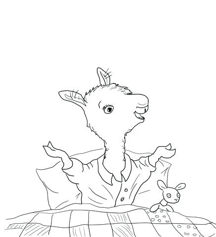 Llama Line Drawing at GetDrawings.com | Free for personal use Llama ...