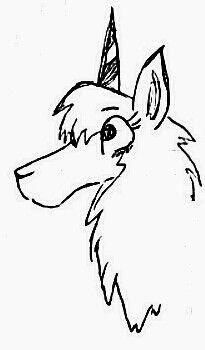 Llamacorn Drawing