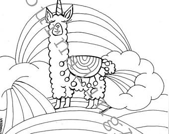 340x270 Pdf Coloring Page Etsy
