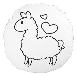 324x324 Cute Llama Funny Pillows