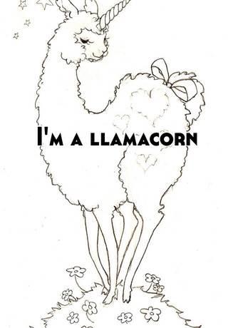 320x460 I'M A Llamacorn