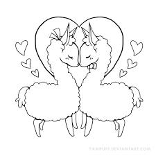 Llamacorn Drawing At Getdrawings Com Free For Personal Use