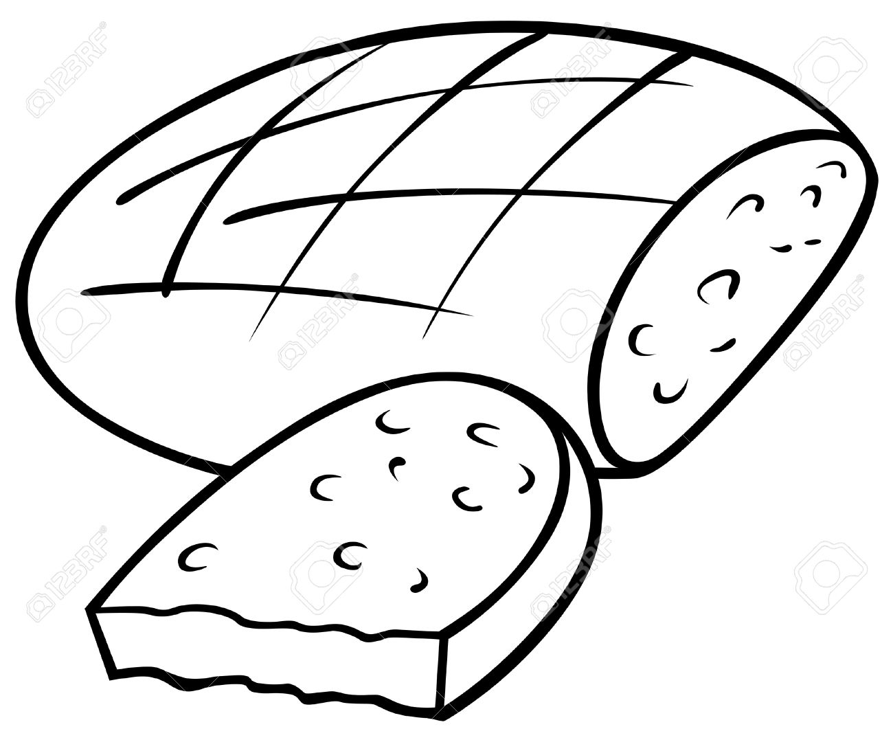 Loaf Of Bread Drawing at GetDrawings.com | Free for personal use ...