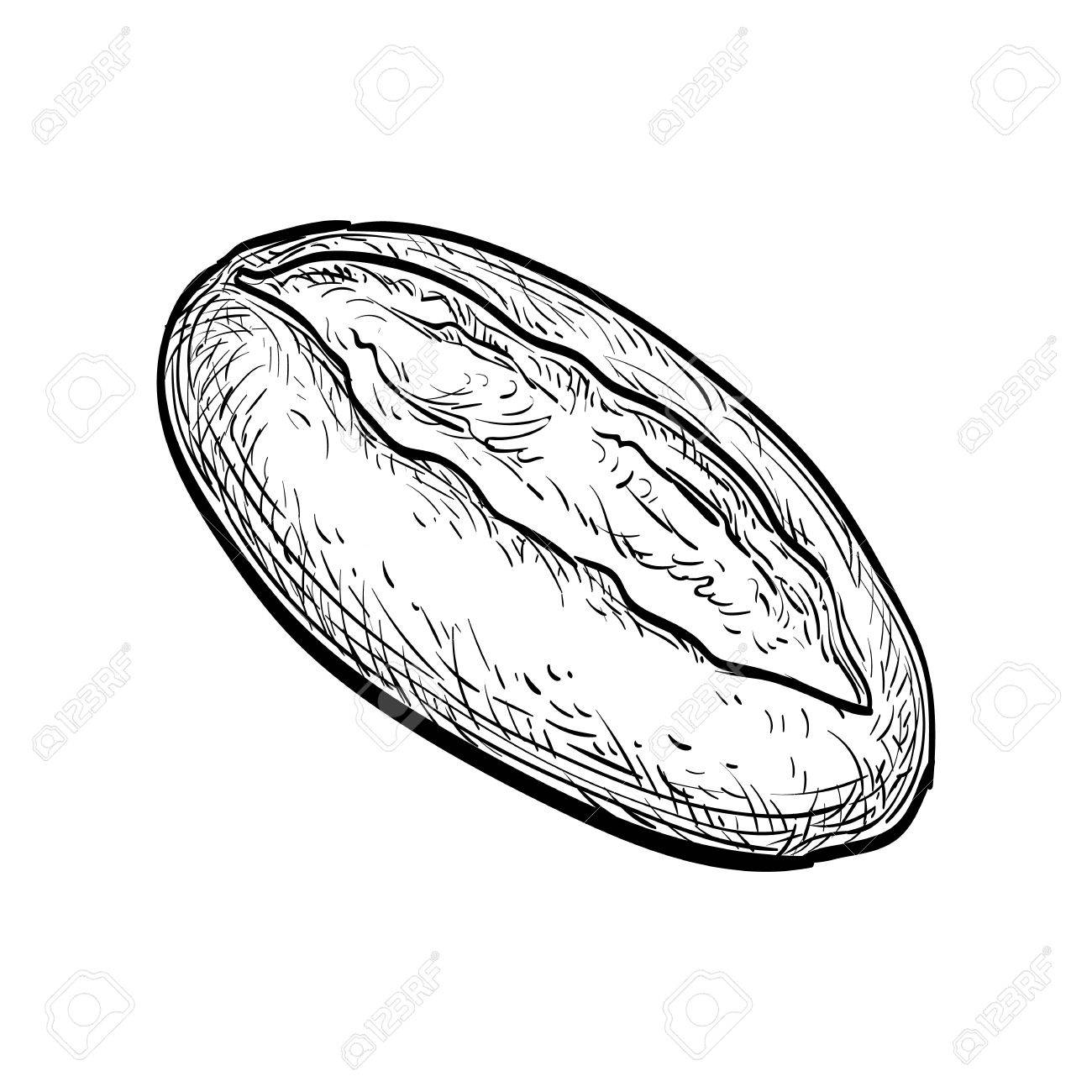 1300x1300 Loaf Of Bread. Royalty Free Cliparts, Vectors, And Stock