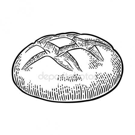450x450 Bakery Shop Bread Vector Sketch Poster Stock Vector Seamartini