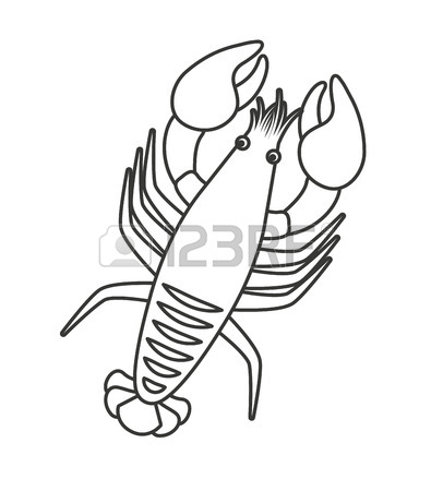 395x450 Lobster Character Stock Photos. Royalty Free Lobster Character