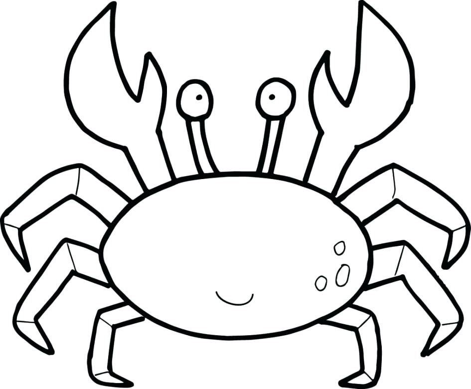 945x780 Lobster Coloring Page Lobster Outline 4 Cartoon Lobster Coloring