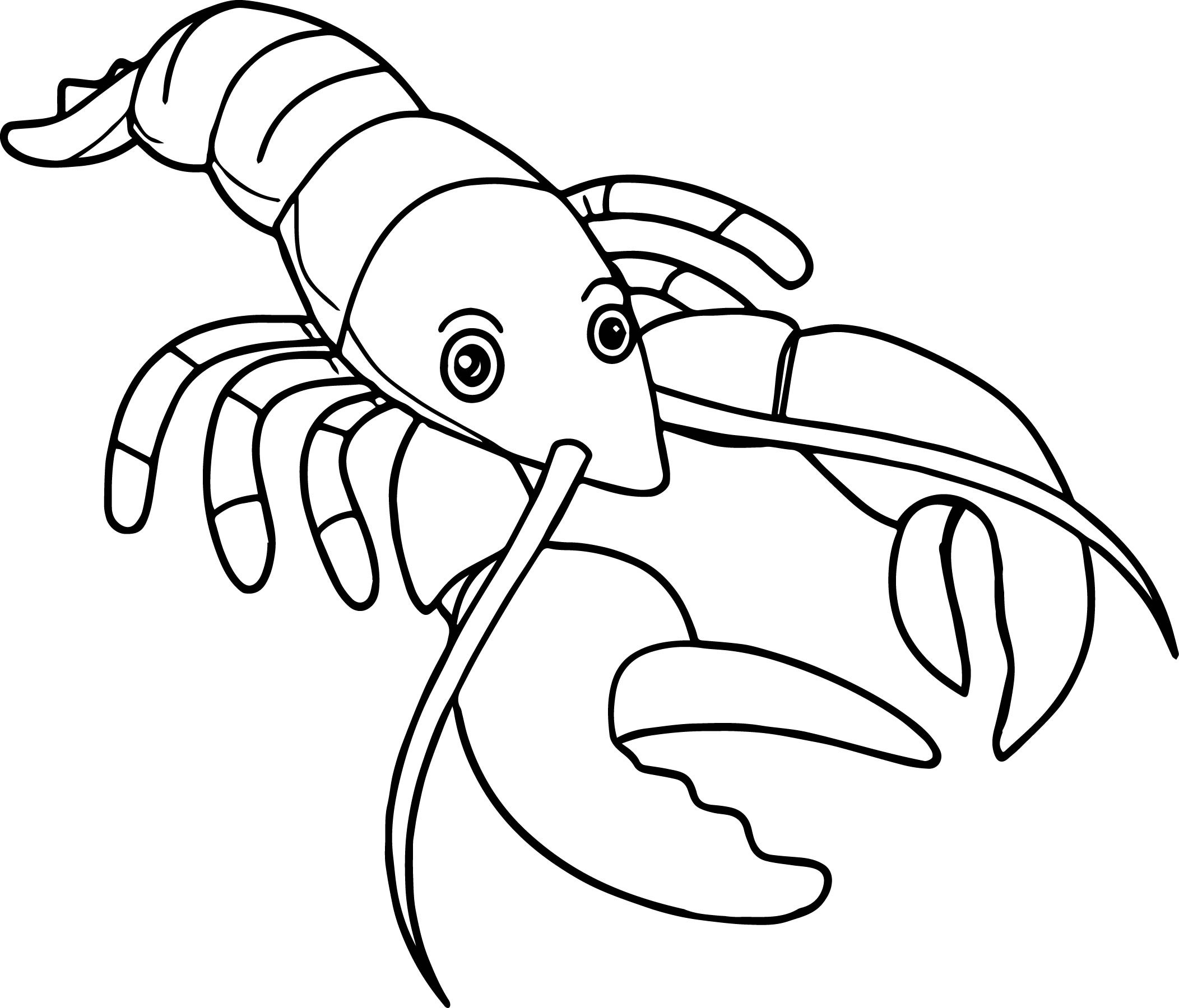 2104x1800 Lobster Sea Animals Coloring Pages For Kids Awesome Worksheets