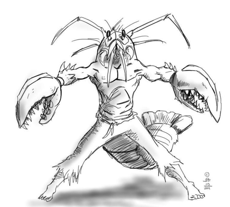770x692 J. Philip Foley Lobster Man Mash Up And A Head Shot