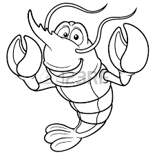 225x225 Lobster Coloring Pages For Kids