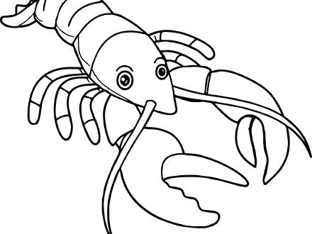 440x330 Lobster Coloring Page Lobster Coloring Page Lobster Trap Coloring