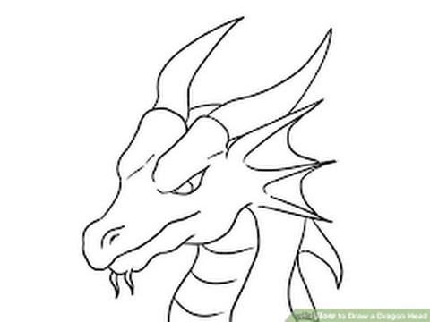 480x360 How To Draw A Dragon Step By Step Easy !!!