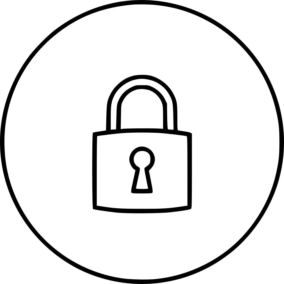 980x980 Padlock Lock Block Key Riddle Svg Png Icon Free Download ( 551723