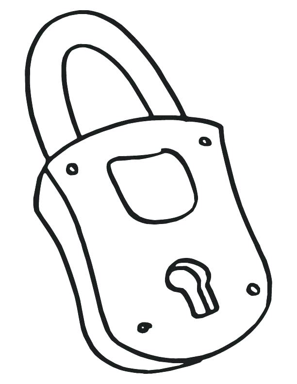 612x792 Stunning Key Coloring Page Best Of Together With Lock Outline