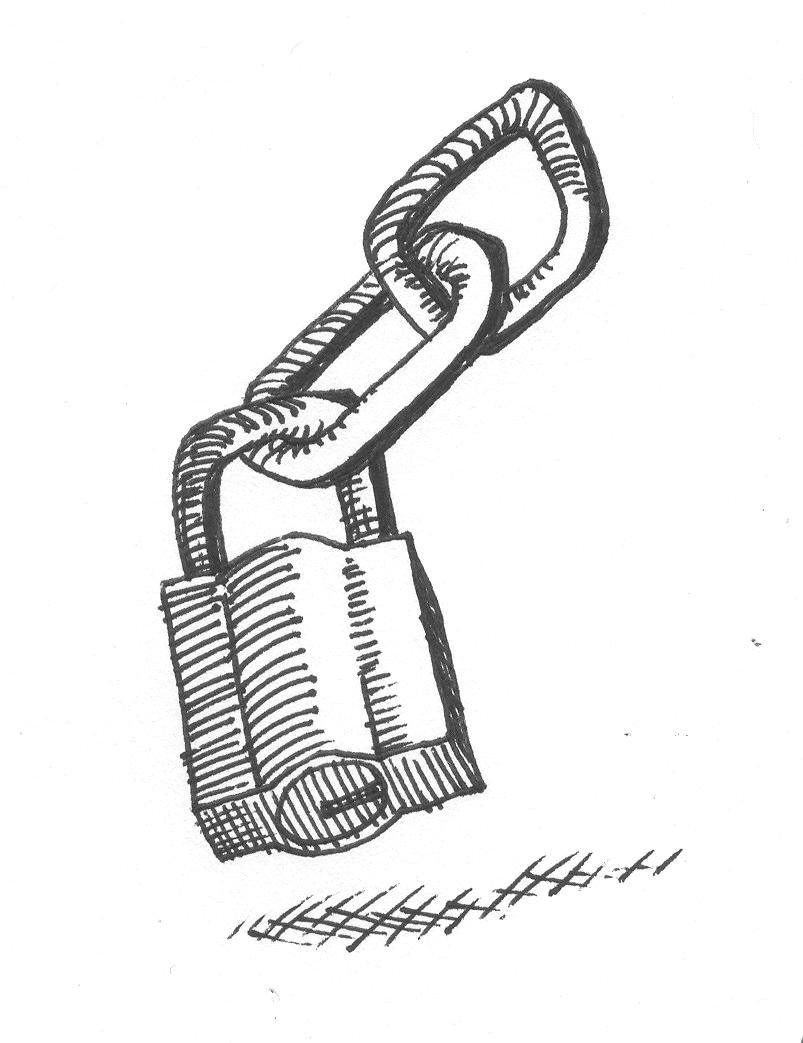 Lock Drawing