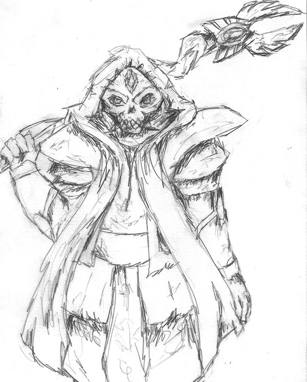 600x746 Runescape Drawing Lucien By Lock Wolf