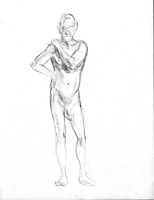 309x400 The Hurtt Locker Stand Still, Naked Man