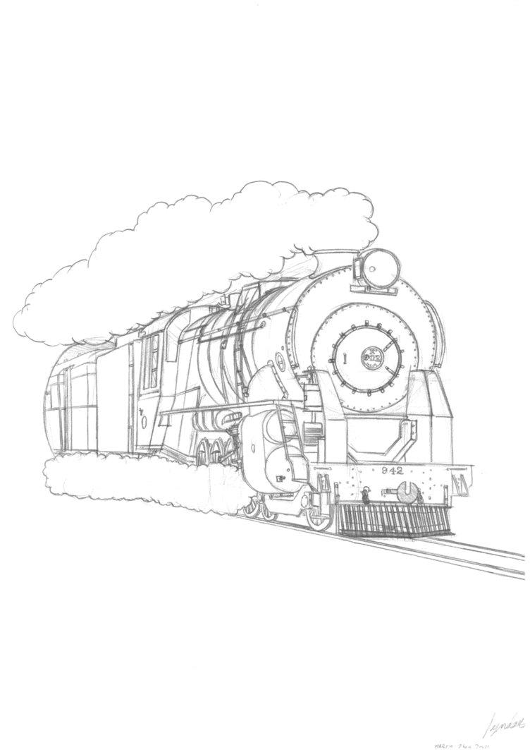 752x1063 Nzr Ka Class Locomotive By Famousmari5