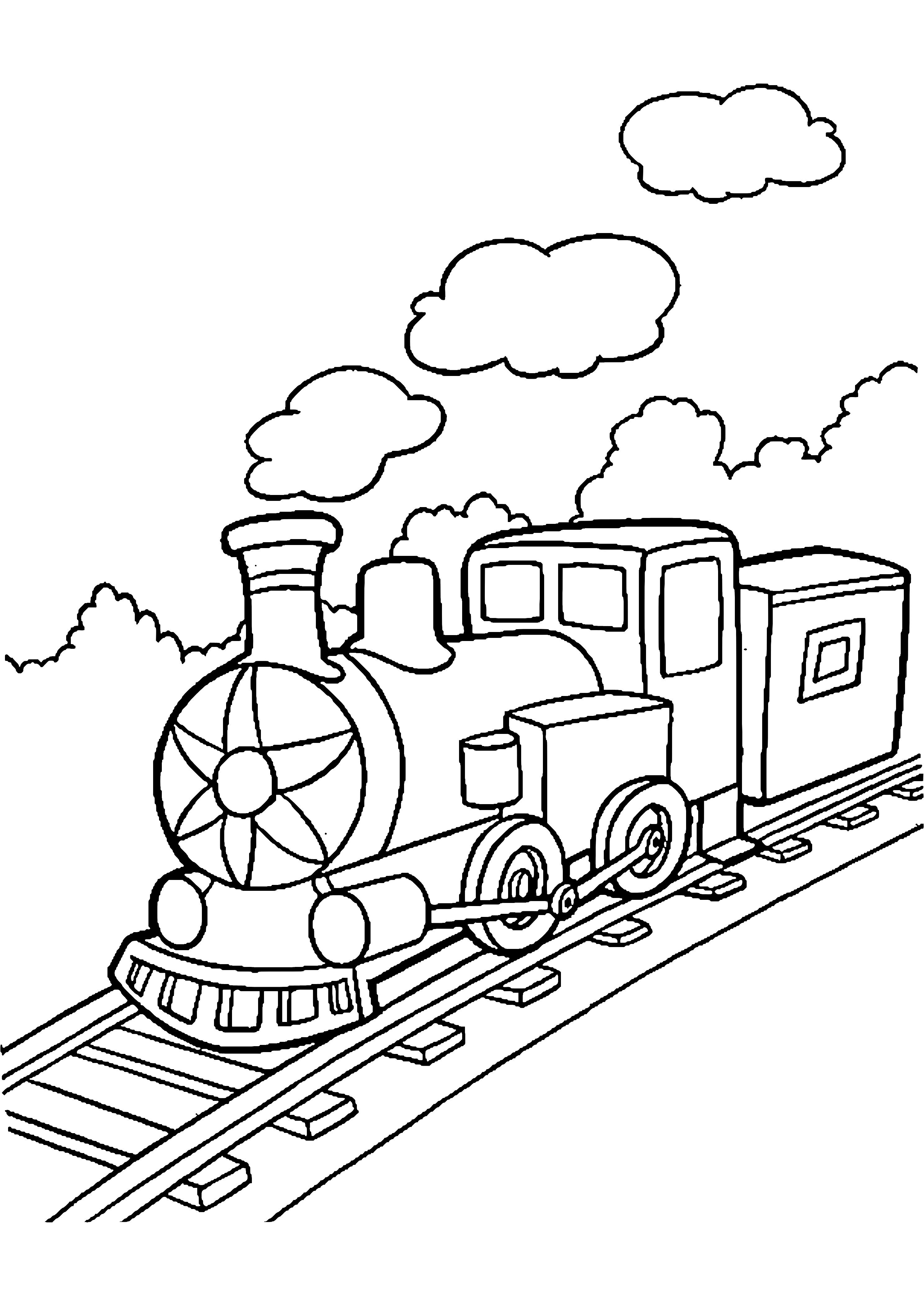 2975x4200 Train Locomotive