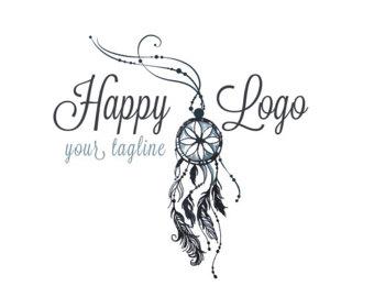 340x270 Digital Custom Logo Design Watercolor Flowers Logo