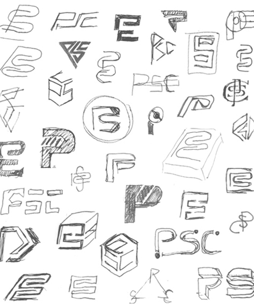 500x605 Thumbnail Sketch Sheet. A Great Variety Of Different Designs