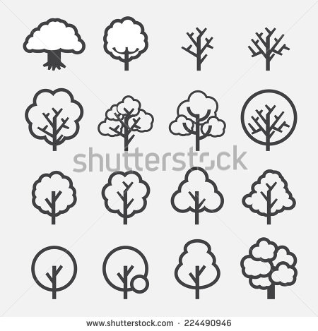 450x469 Tree Icon Vector Graphics Icons, Logos And Tree Logos