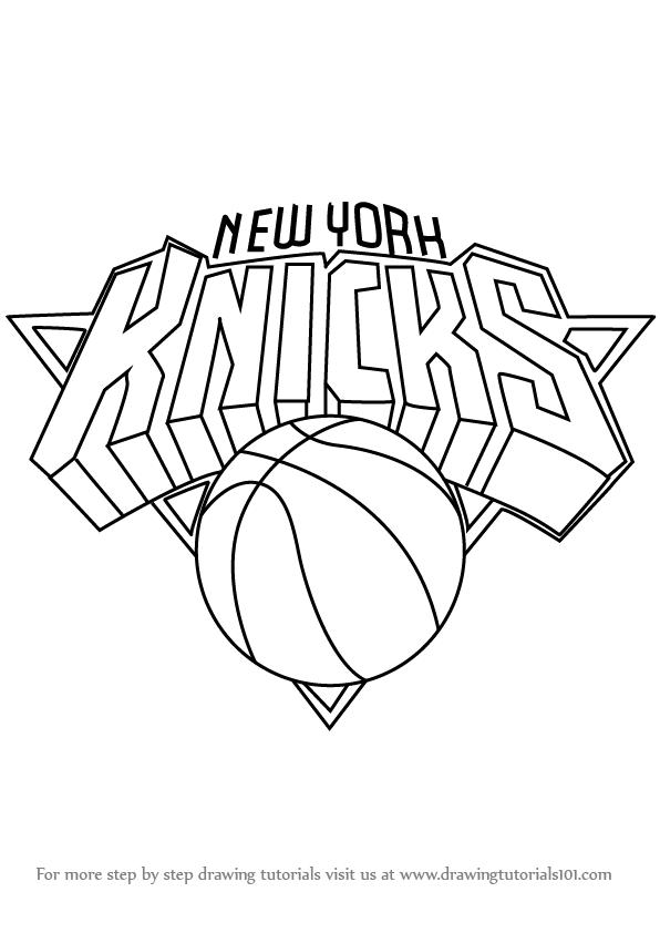 596x842 Knicks Logo Drawing Knicks Logo 2013