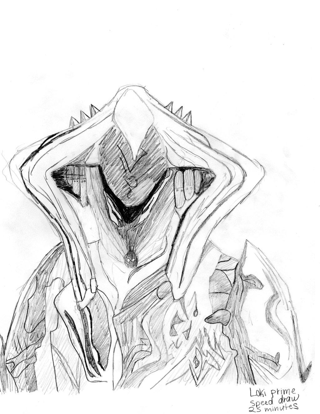 1024x1325 Warframe Loki Prime By Abagailasta