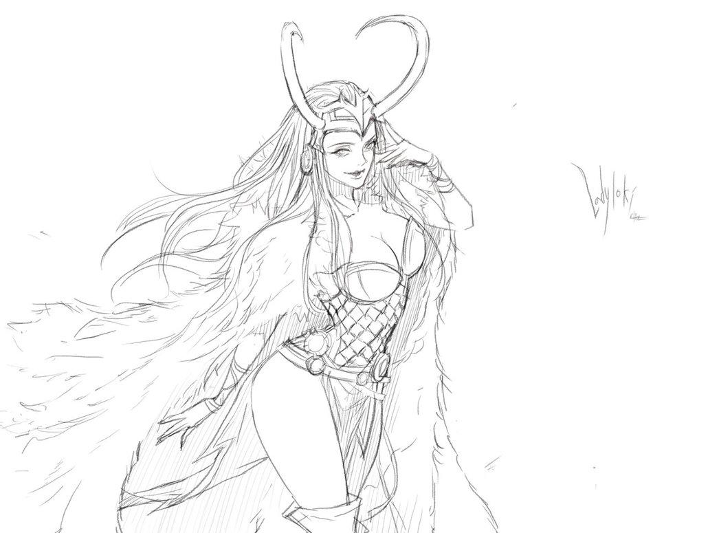1030x775 Lady Loki By Eliz7