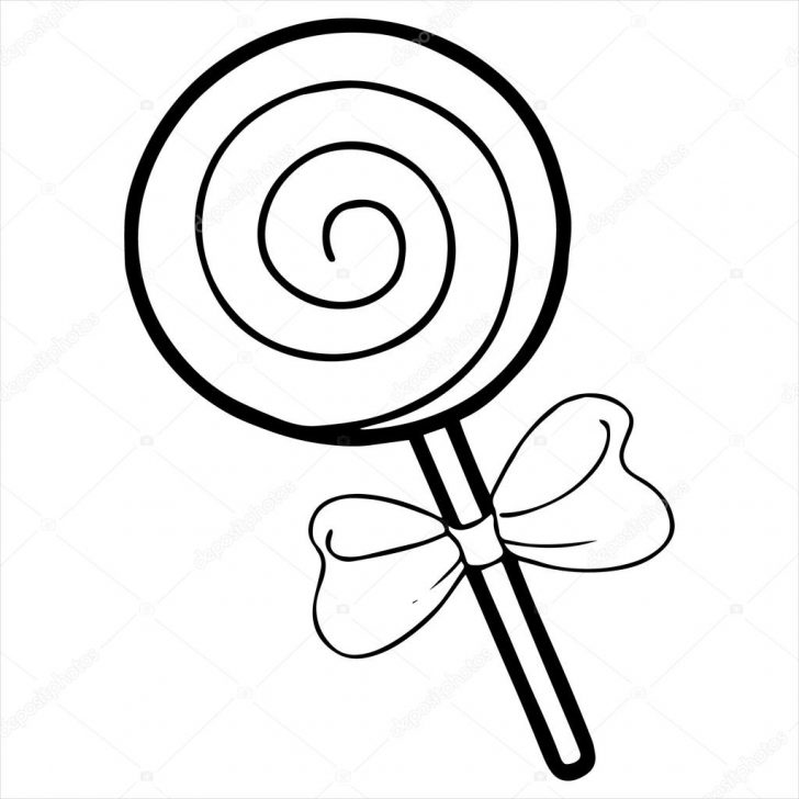 728x728 Lollipop Coloring Page With Wallpapers 1080p