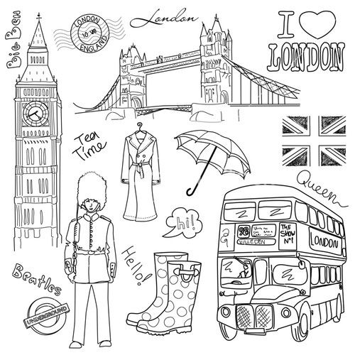 500x500 Best London Silhouette Ideas On Black Red Tattoo